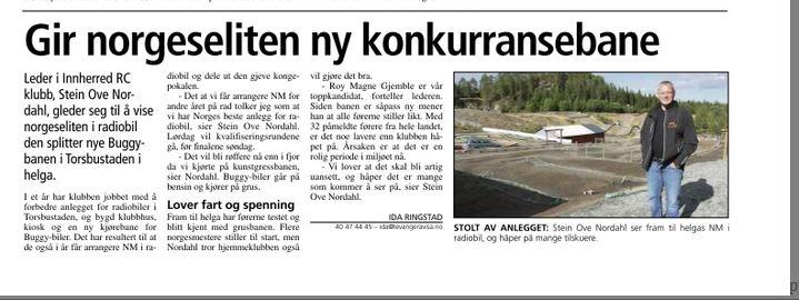 Sto i Levanger-Avisa Lørdag 16. August