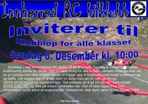 Invitasjon klubbløp